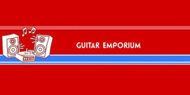 Cropped guitar