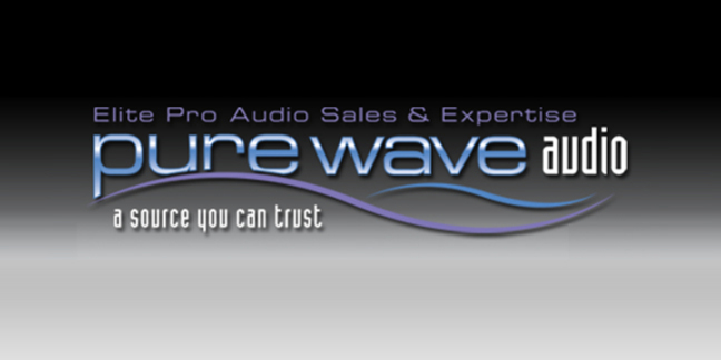 Cropped pure wave logo