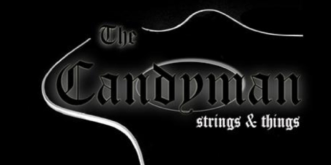 Cropped the candyman strings and things logo