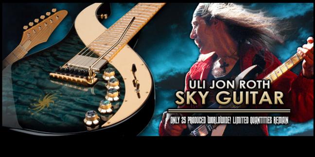 Cropped dean uli jon roth sky guitar