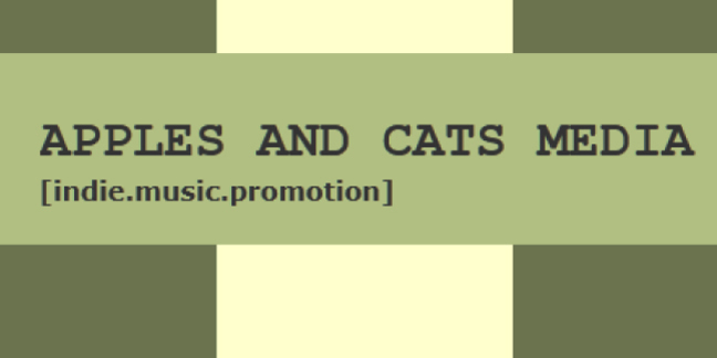 Cropped apples and cats media logo