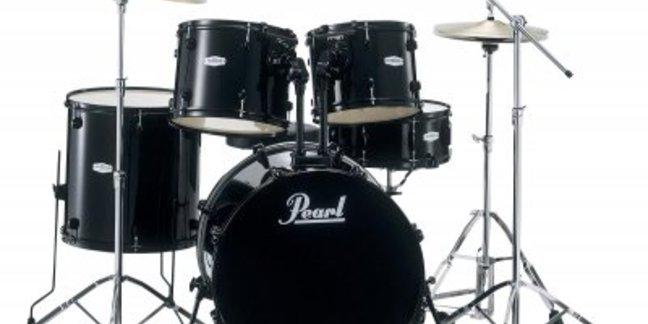 Cropped pearl drum set 649.99
