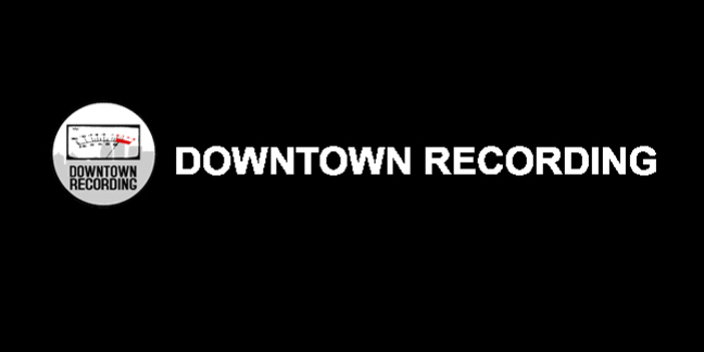 Cropped downtown recording logo