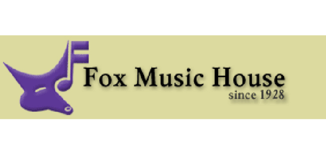 Cropped fox music house logo