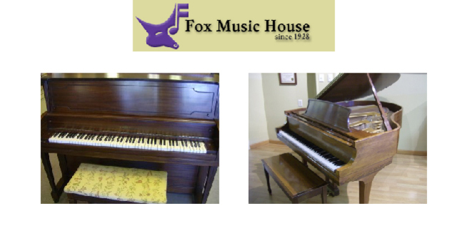 Cropped fox music house piano