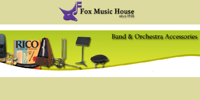 Cropped fox music house instruments