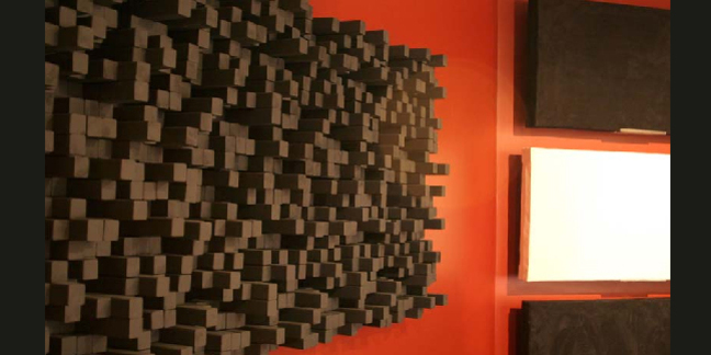 Cropped fishtank audio sound proofing