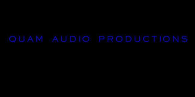Cropped quam audio productions logo