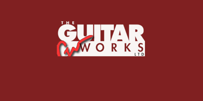 Cropped guitar works logo