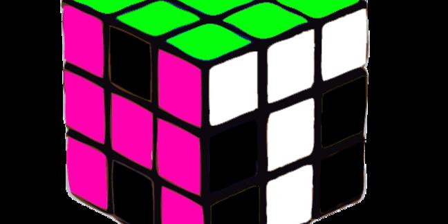 Cropped hype team rubiks cube logo