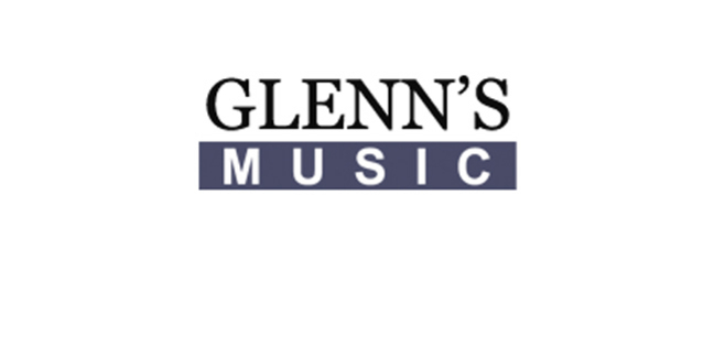 Cropped glenns music logo
