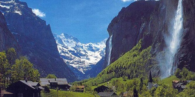 Cropped lauterbrunnen