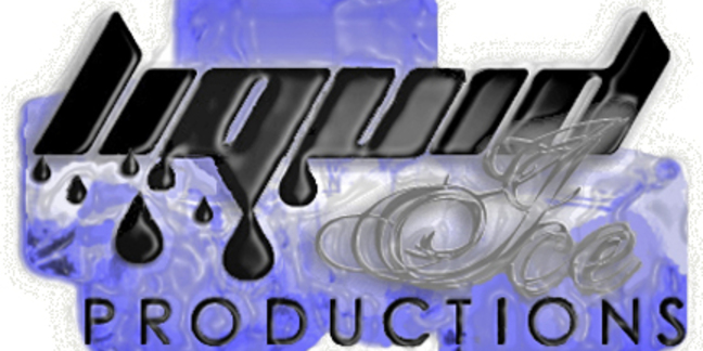 Cropped liquid ice logo