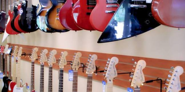 Cropped guitarwall