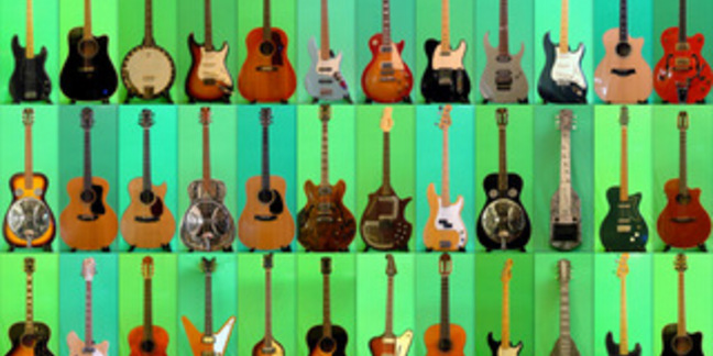 Cropped guitarcollage