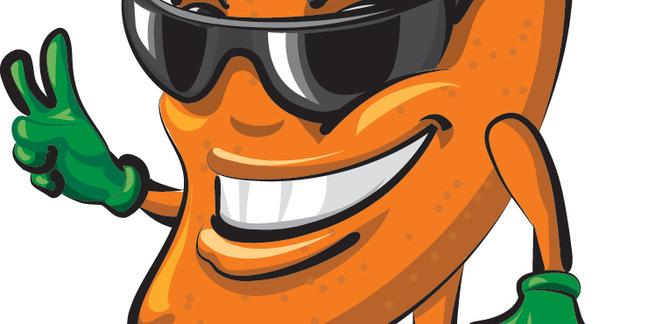 Cropped mango mascot 1000