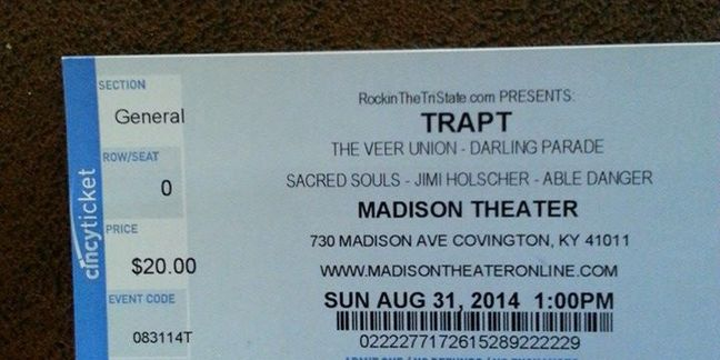 Cropped trapt tickets