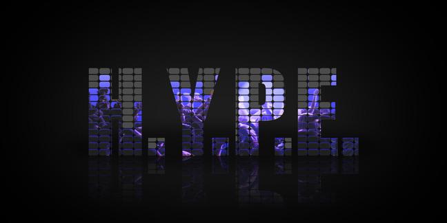 Cropped hype logo black