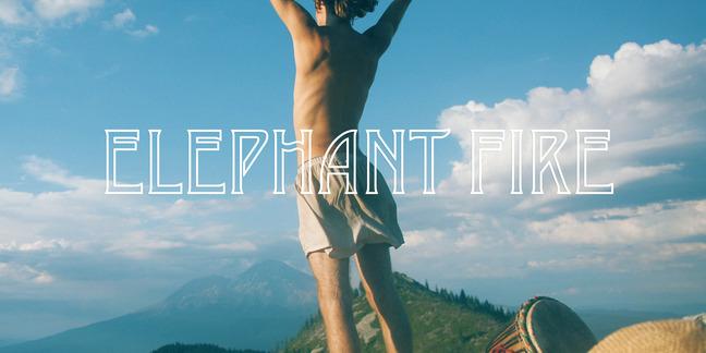 Cropped elephant fire 300