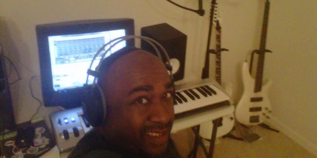 Cropped travis spencer in the studio