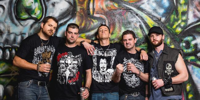 Cropped band promo shot