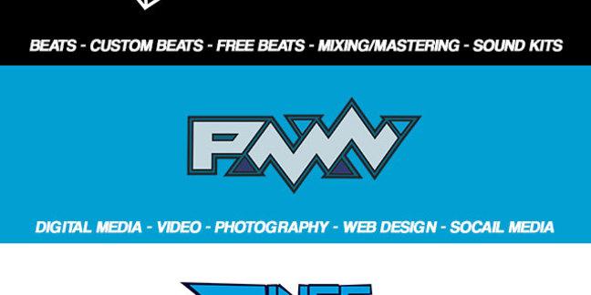 Cropped logos