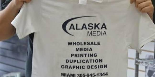 Cropped alaska media silk screen